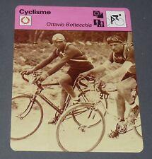 FICHE CYCLISME 1925 OTTAVIO BOTTECHIA ITALIA TOUR FRANCE WIELRIJDER CICLISMO