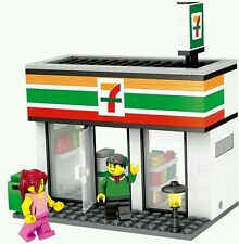 City scene Seven Eleven minifigures bricks building blocks construction lego