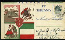 BULLFIGHTER-TAUROMAQUIA,-CORRIDAS DE TOROS,-SOUVENIR>> TIJUANA -MEXICO  1942