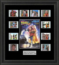Back To The Future 2 (1989) 35mm Film Cells Movie Cell Filmcells Presentation