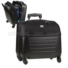 Reisetrolley Businesstrolley Notebooktrolley 4 Rollen Notebookfach 37cm NEU