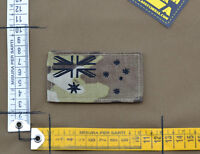 """Ricamata / Embroidered Patch """"Australia Flag"""" Multicam with VELCRO® brand hook"""