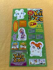 Sticker Sammelsticker Anime Stickerbogen Pokemon Hamtaro Yugioh Kids Zone