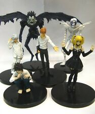 ACTION FIGURE DEATH NOTE 16 CM 6 in 1 OFFERTA! COSPLAY GIOCO STATUE RYUK LIGHT L