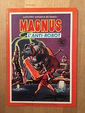 Magnus l'Anti-Robot (Russ Manning) - Sagedition - 1979 - NEUF