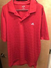 Mens Addidas Red Golf polo shirt sz xl new wo tags free shipping! Golf,PGA
