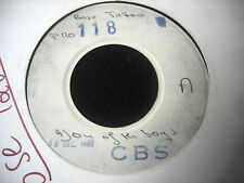 "ROSE TATOO/ONE OF THE BOYS/RARE TEST PRESSING PRO 118 CBS/30 DEC 80  PRESS 7"" SP"
