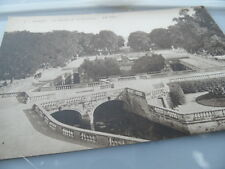 NIMES France  Garden and Fountain    POSTCARD VINTAGE GOOD CONDITION