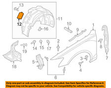 AUDI OEM 12-18 A6 Quattro-Fender Liner Cover 4G0809967