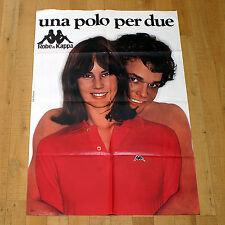 UNA POLO PER DUE poster manifesto Oliviero Toscani Couple Robe di Kappa