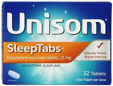 Unisom Sleep Tabs Night Time Sleep Aid Tablets - 32 Count