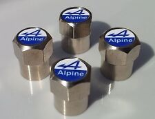 ALPINE CHROME ALLOY TYRE VALVE CAPS FOR TIRE VALVES