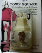 Town Square Floral Lamp T8563 Dollhouse Miniature 1:12 Twelve Volt