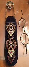 Amazing Antique Victorian Enamel Eye Glasses Case