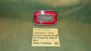 1971-1973 CHEVROLET VEGA GM FACTORY OEM REVERSE BACK UP LENS FREE SHIPPING