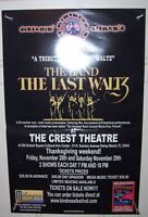 THE BAND THE LAST WALTZ 30th Anniversary KINDNESS FESTIVAL Promo Poster