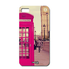 CUSTODIA COVER CASE FOTO VINTAGE BIG BEN LONDRA LONDON PER CELLULA iPHONE 5 5S S