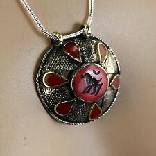 Belly Dance ATS tribal PENDANT (Chain not included) Afghani Kuchi 731c9