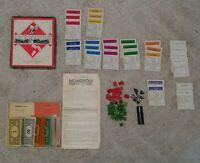 Waddington Vintage Monopoly 1940s Game – No Board
