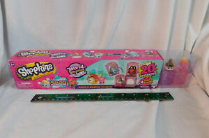 New Shopkins MegaPack World Vacation S. 8 Boarding to Europe 20 Figures 4 Rooms