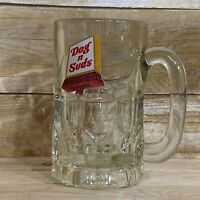 Vintage Dog N Suds Glass Mug Cup Drinkware Root Beer
