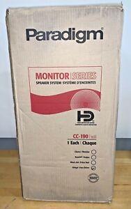 Paradigm Monitor Series CC-190 WENGE Center Channel Speaker