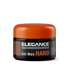 Elegance Styling Hair Gel Wax Hard with Argan Oil 3.38oz NEW FACTORY SEALED