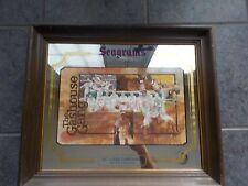 Vintage St. Louis Cardinals Gashouse Gang Seagram's Wood Framed Bar Mirror RARE