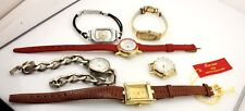 lot of wrist watches ALS donation 25% mixed lot parts movements bands estate