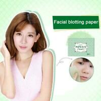 Skin Oil Control Sheets Absorbing Tissue Face Wipes New Pap Blotting A0O3