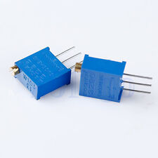 10pcs 3296W-103 10K Ohm Potentiometer Adjustable Resistors YG
