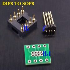 Patch to inline DIP8 to SOP8 sound card upgrade 8Pin adapter board