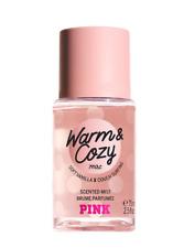 🌺 PINK VICTORIA'S SECRET MINI Travel Fragrance Warm & Cosy Body Mist 75ml 🌺