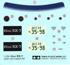 TAMIYA Decal 24110 1/24 Efini RX-7