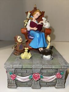 Rare Disney Beauty And The Beast Music Box