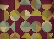 Arc/com Radius Amethyst Contemporary Modern Abstract Geometric Upholstery Fabric
