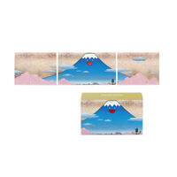 Takashi Murakami Postcard Set Fujiyama JAPAN Mt.Fuji Cherry Blossom