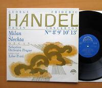 SUA ST 50786 Handel Organ Concertos Milan Slechta 1967 NM/EX Supraphon Stereo