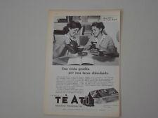 advertising Pubblicità 1960 TE' ATI
