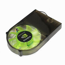 Aluminum 55mm Two Ball Bearing Fan For PC VGA Video Card Cooler Cooling