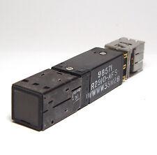 Druck-Schalter aus Flugzeugbau / Switch, 3x UM, beleuchtbare Kappe!