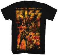 AUTHENTIC KISSHOTTER THAN HELL ROCK MUSIC BAND T TEE SHIRT S M L XL 2XL