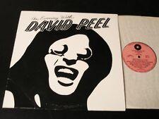 An Evening With David Peel - ORIGINAL 1975 LP - CLEAN!