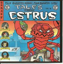 """Tales From Estrus Vol II 7"""" Super Snazz American Soul Spiders The Beyonds Clean"""