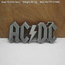 Zinc Alloy ACDC Music Belt Buckle for Men Creative Metal Belt Buckles