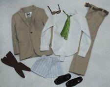Silkstone Ken English Style Khaki Suit Fashion ~ Newly Unboxed ~ Free U.S Ship