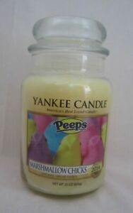 Yankee Candle LARGE JAR CANDLE 22 oz 110 - 150 Hrs Burn Time YOU PICK SCENT