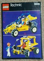 Lego 8840 Shock and Roll Racer Instructions