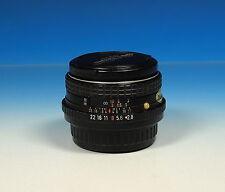 PENTAX M SMC 28mm/2.8 obiettivo Lens objectif per Pentax K - (90918)