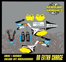 TM RACING  85 TO 450 FULL MOTOCROSS  GRAPHICS KIT MOTORCROSS ALL YEARS-YELLOW